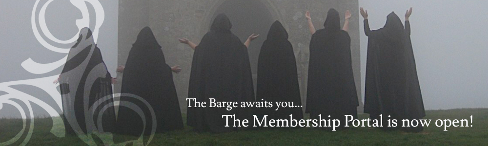 The Barge awaits you. The Membership Portal is now open!