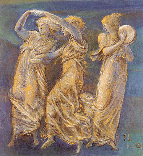 Burne_Jones_Sir_Edward_Coley_Three_Female_Figures__Dancing_And_Playing